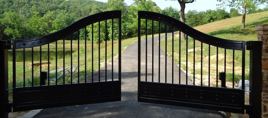 Custom automatic gate systems and access control